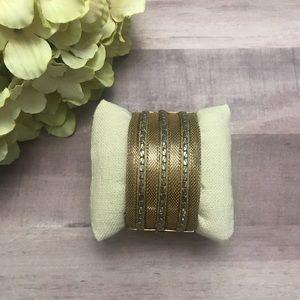 Vintage | Engraved Bangle Bracelet